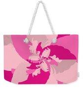 Tropical Pink Weekender Tote Bag