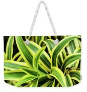 Tropical Plant Weekender Tote Bag