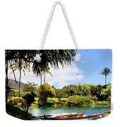 Tropical Plantation - Maui Weekender Tote Bag