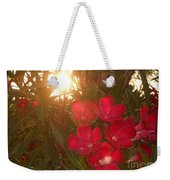Tropical Red Weekender Tote Bag
