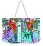 Tropical Reflections Weekender Tote Bag