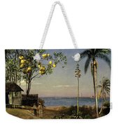 Tropical Scene Weekender Tote Bag