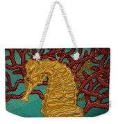 Tropical Seahorses Weekender Tote Bag