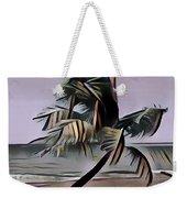 Tropical Seascape Digital Art A7717  Weekender Tote Bag by Mas Art Studio