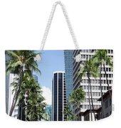 Tropical Street Weekender Tote Bag