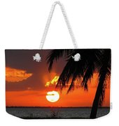 Tropical Sunset Weekender Tote Bag