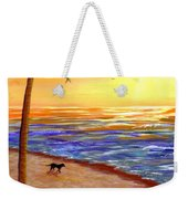 Tropical Sunset Weekender Tote Bag