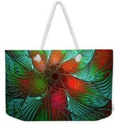 Tropical Tones Weekender Tote Bag