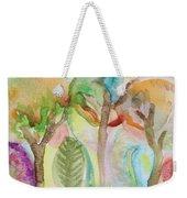 Tropical Trees Weekender Tote Bag