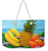 Tropical Trinity Weekender Tote Bag