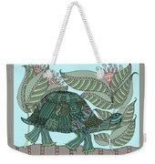 Tropical Turtle Weekender Tote Bag