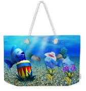 Tropical Vacation Under The Sea Weekender Tote Bag