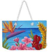 Tropical View Weekender Tote Bag
