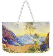 Tropical Vintage Hawaii Weekender Tote Bag