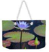 Tropical Water Colors Weekender Tote Bag
