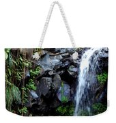Tropical Waterfall Weekender Tote Bag