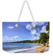Tropical Waters Weekender Tote Bag