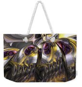 Tropical Wind Abstract Weekender Tote Bag