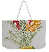 Tropicals Weekender Tote Bag