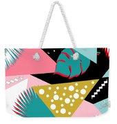Tropics Colors  Weekender Tote Bag