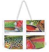 Trout Colors Weekender Tote Bag