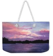 Trout Lake Sunset I Weekender Tote Bag