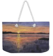 Trout Lake Sunset II Weekender Tote Bag