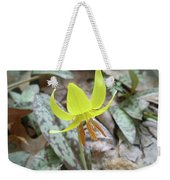 Trout Lily Wildflower - Erythronium Americanum Weekender Tote Bag
