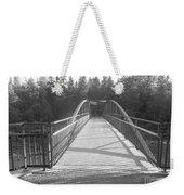 Trowbridge Falls Bridge Bw Weekender Tote Bag