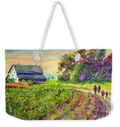 Troy's Memories Weekender Tote Bag by Kathy Braud
