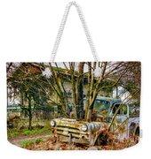 Truck N Tree Weekender Tote Bag