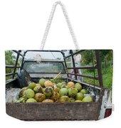 Truckload Of Coconuts Weekender Tote Bag