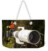 True Bird Photographer Weekender Tote Bag