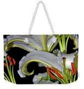 True Lilies Weekender Tote Bag by Andy Za