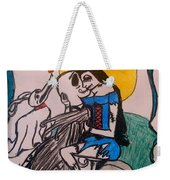 True Love's Kiss In Color Weekender Tote Bag