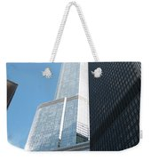 Trump Building From Other Side Weekender Tote Bag