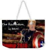 Trump Revolution Weekender Tote Bag