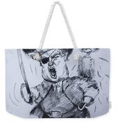 Trump, Short Fingers Pirate With Ryan, The Bird  Weekender Tote Bag