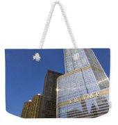 Trump Tower And Marina City Weekender Tote Bag