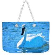 Trumpeter Swan Impressions Weekender Tote Bag