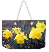 Trumpets Of Spring Weekender Tote Bag