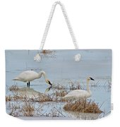 Trumpter Swans 8182 Weekender Tote Bag