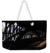 Trusses And Light  Weekender Tote Bag