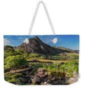 Tryfan Mountain Valley Weekender Tote Bag