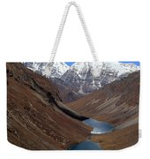 Tsho Phu Lakes And Jichu Drake Weekender Tote Bag
