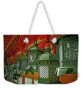 Tsuri-do-ro Or Hanging Lantern #0807-2 Weekender Tote Bag