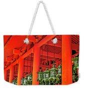 Tsuri-do-ro Or Hanging Lantern #0807-4 Weekender Tote Bag