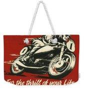 Tt Races 1961 Weekender Tote Bag