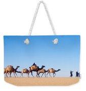 Tuareg Journey Across The Desert Weekender Tote Bag