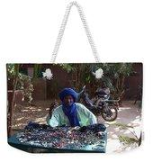 Tuareg Man Selling Jewelry Weekender Tote Bag